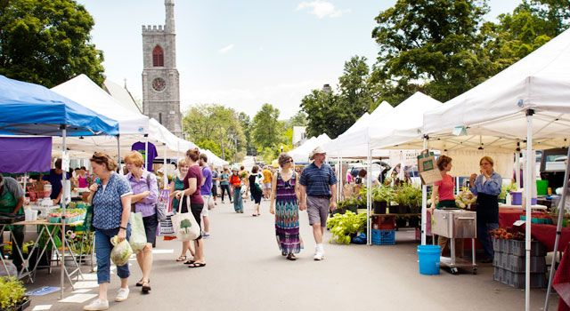 Amherst Farmers Market | Photo by Lynne Graves